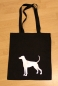 Mobile Preview: Baumwolltasche mit Dobermann